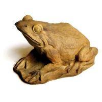 Pond Frog Fiber Stone Resin Indoor/Outdoor Garden Statue/Sculpture