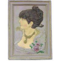 Portrait Of Mademoiselle - Fiberglass - Indoor/Outdoor Statue