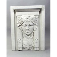 Princess Tile 28in. - Fiberglass - Indoor/Outdoor Garden Statue