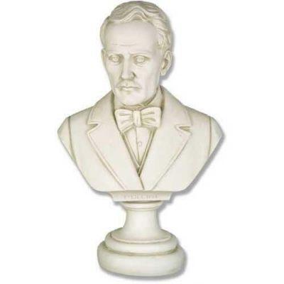 Puccini Bust Fiberglass Indoor/Outdoor Garden Statue/Sculpture -  - F7317