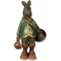 Rabbit w/Horn - Fiberglass Resin - Indoor/Outdoor Statue/Sculpture