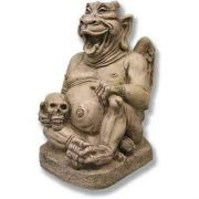 Raleigh Gargoyle 13in. High - Fiberglass - Indoor/Outdoor Statue