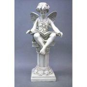 Reading Fairy 20in. - Fiberglass - Indoor/Outdoor Garden Statue