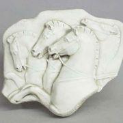 Rearing Horses Frieze - Fiberglass - Indoor/Outdoor Statue