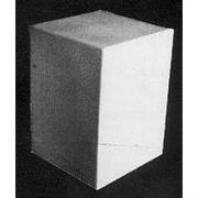 Rectangle - Fiberglass - Indoor/Outdoor Garden Statue/Sculpture