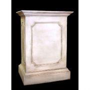 Rectangular Riser Stand Pedestal Statue Base - Fiberglass - Statue