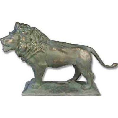 Reduction Art Lion 41in. Look L - Fiberglass - Outdoor Statue -  - F9575