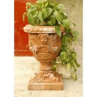 Robbia Angel Planter 24in. - Fiber Stone Resin - Indoor/Outdoor Statue