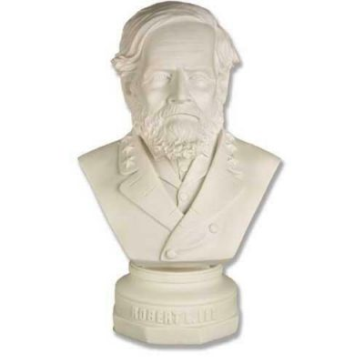 Robert E. Lee Bust - Fiberglass - Indoor/Outdoor Garden Statue -  - F7270