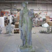 Roman Woman 45in. - Fiber Stone Resin - Indoor/Outdoor Garden Statue