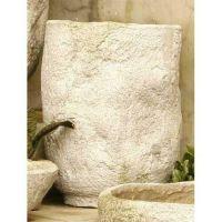 Rough Hewn Bowl #3 15in. - Fiber Stone Resin - Indoor/Outdoor Statue