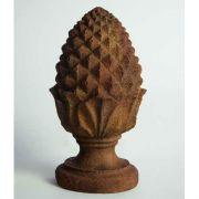 Rustic Pinecone - Fiber Stone Resin - Indoor/Outdoor Statue/Sculpture