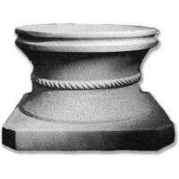 Rustic Riser Stand Pedestal Statue Base - Fiberglass - Statue Base