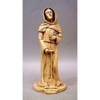 Saint Fiacre 28 Inch Fiberglass Resin Indoor/Outdoor Statue/Sculpture
