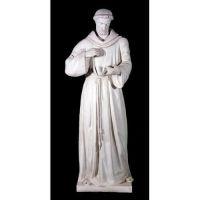 Saint Francis Of Assissi 56in. Fiberglass Indoor/Outdoor Statue