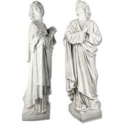 Saint John The Apostle 68in. Fiberglass In/Outdoor Garden Statue