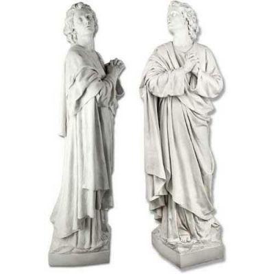 Saint John The Apostle 68in. Fiberglass In/Outdoor Garden Statue -  - F7683