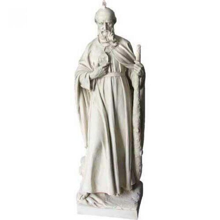Saint Jude 38in Fibergl Resin Indoor Outdoor Statue Sculpture