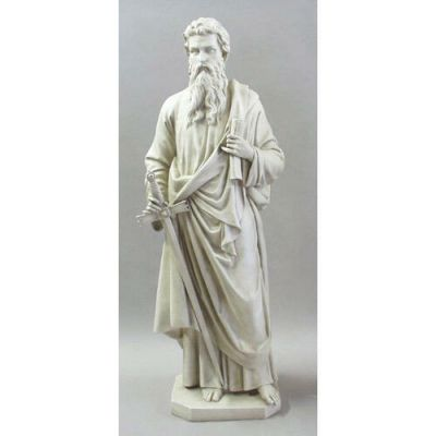 Saint Paul 62 In. High - Fiberglass - Indoor/Outdoor Statue -  - F9578