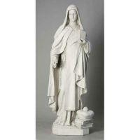 Saint Teresa Of Avila 40in. Fiberglass Indoor/Outdoor Statue