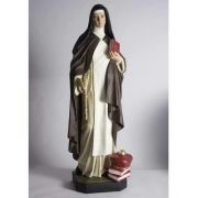 Saint Teresa Of Avila 40in. - Fiberglass - Indoor/Outdoor Statue