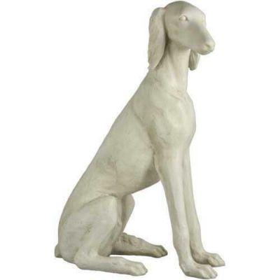 Saluki Dog 39in. - Fiberglass - Indoor/Outdoor Statue/Sculpture -  - FDSSD214