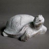 Sand Turtle 10in. - Fiber Stone Resin - Indoor/Outdoor Garden Statue