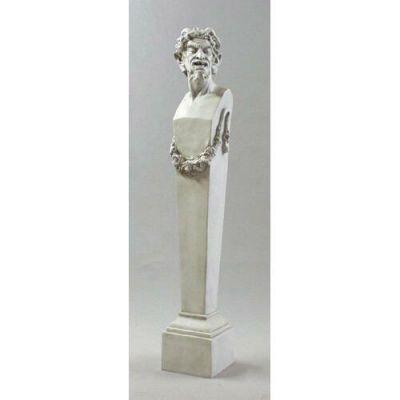 Satyr Terminus 69in. - Fiberglass - Indoor/Outdoor Garden Statue -  - F69863