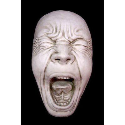 Screaming Simon 17in. - Fiberglass - Indoor/Outdoor Statue -  - F68739