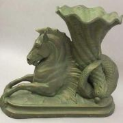 Seahorse Of Plenty 29in. - Fiberglass Resin - Indoor/Outdoor Statue