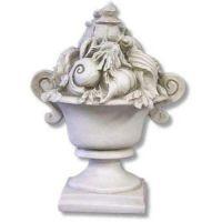 Seashell Ocean Urn 13 In. - Fiberglass - Indoor/Outdoor Statue