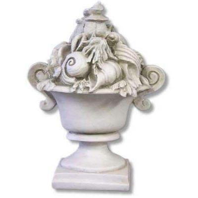 Seashell Ocean Urn 13 In. - Fiberglass - Indoor/Outdoor Statue -  - F9002