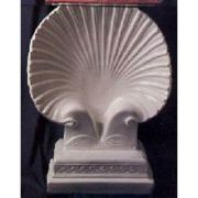 Seashell Table Base - Fiberglass - Indoor/Outdoor Garden Statue