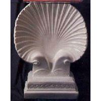 Seashell Table Base - Fiberglass - Indoor/Outdoor Garden Statue