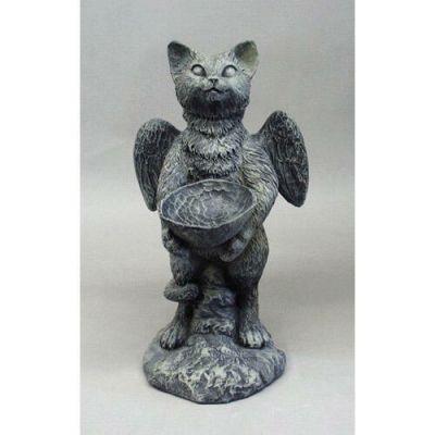 Sebastian Cat Angel 21in. - Fiberglass - Indoor/Outdoor Statue -  - F68484