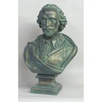 Shakespeare Large 29in. - Fiberglass - Indoor/Outdoor Statue