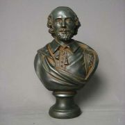 Shakespeare 12in. - Fiberglass - Indoor/Outdoor Garden Statue