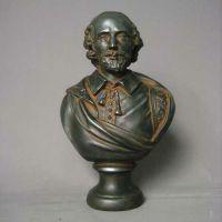 Shakespeare 12in. - Fiberglass - Indoor/Outdoor Garden Statue
