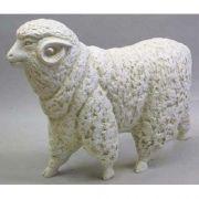 Sheep By Destefano - Fiberglass - Indoor/Outdoor Garden Statue