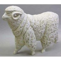 Sheep By Destefano - Fiberglass - Indoor/Outdoor Garden Statue