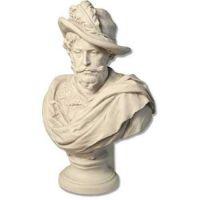 Sir Drago Bust - Fiberglass - Indoor/Outdoor Statue/Sculpture