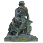Socrates Seated - Fiberglass - Indoor/Outdoor Statue/Sculpture