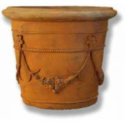 Spanish Planter 20in. Fiberglass In/Outdoor Garden Statue