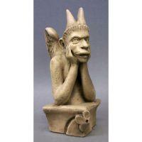 Spitting Gargoyle - Fiberglass - Indoor/Outdoor Garden Statue