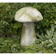 Staddle Stone Mushroom 24in. Fiberglass Indoor/Outdoor Statue
