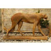 Stalker 15in. - Fiber Stone Resin - Indoor/Outdoor Statue/Sculpture