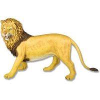 Stalking Lion - Full Color Fiberglass Indoor/Outdoor Statue