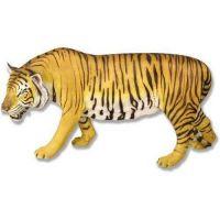 Stalking Tiger - Full Color Fiberglass Resin Indoor/Outdoor Statue