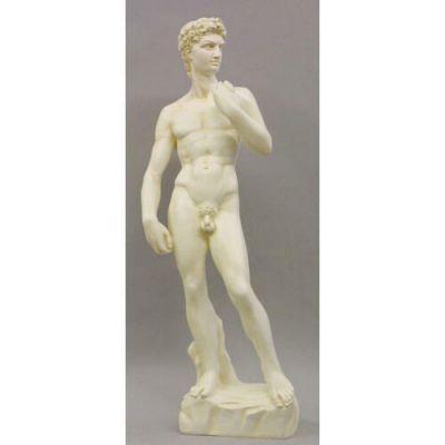 Standing David 31in. - Fiberglass - Indoor/Outdoor Garden Statue -  - F18