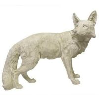 Steady Fox Fiberglass Indoor/Outdoor Garden Statue/Sculpture